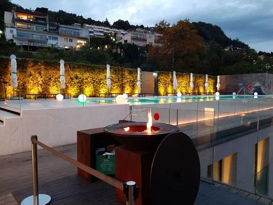 Pool at Hilton Como