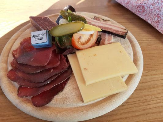 Appenzeller Cheese & Saucage Platter