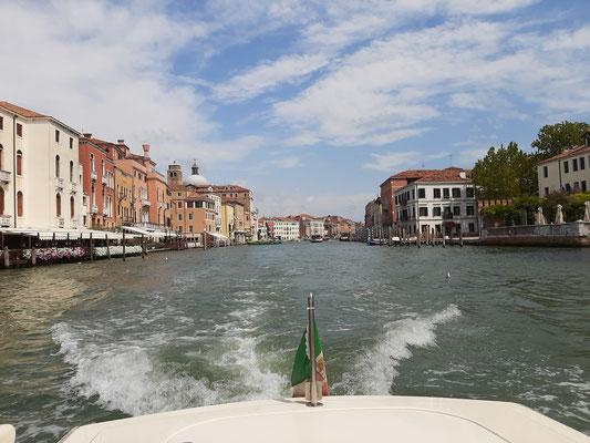 Boat cruise Venice
