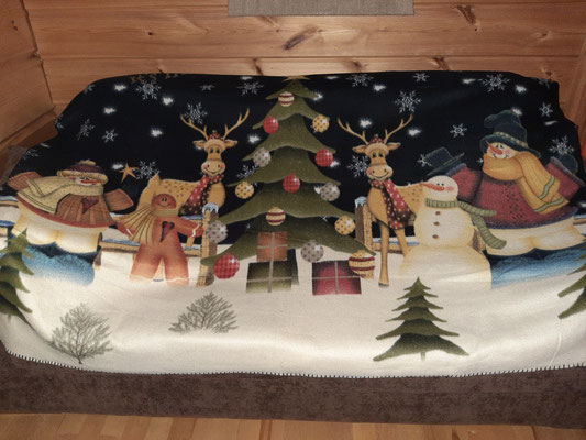 Cosy blanket KRT Cabins