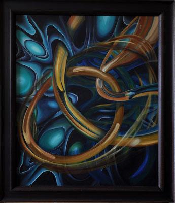 """""""Space – 1"""" (50×60cm) 2011"""