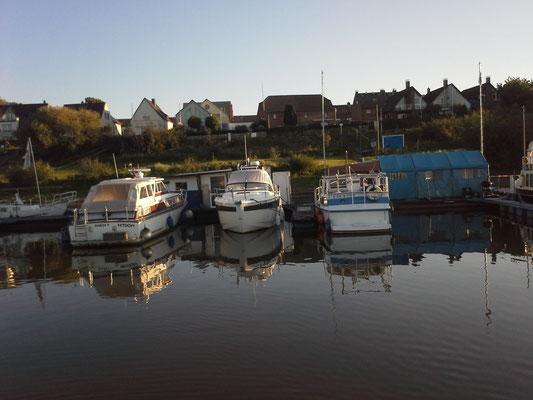 Hitdorf Hafen... mit neuen Sanitäranlagen