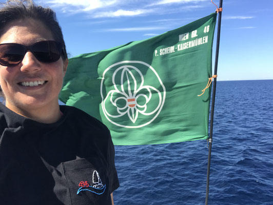 für die dies nicht wissen, ich war mal Seepfadfinder / I started sailing with the sea scouts in Vienna