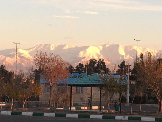 am Morgen früh in Teheran