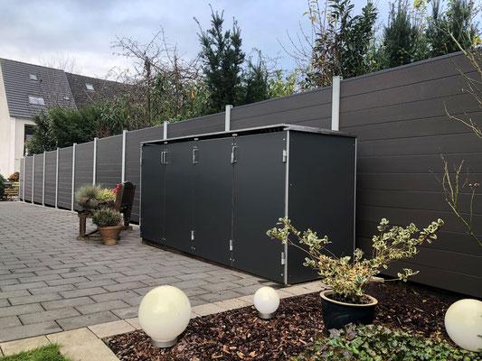 Projekt 34832  Abfall-Boxen-Anlage Kunststoff