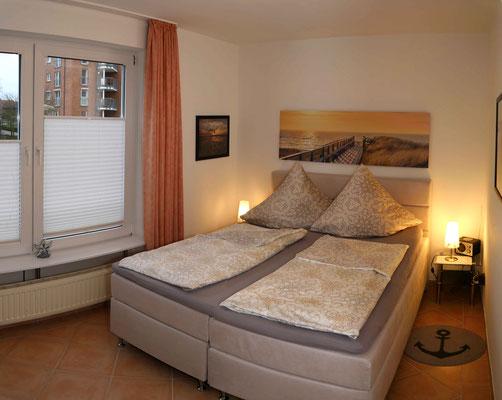 Ein hochwertiges Boxsprinbett für den erholsamen Schlaf im Urlaub an der Nordsee