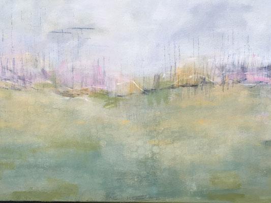 Landschaf t2019 Acryl auf Leinwand 60 cm x 40 cm