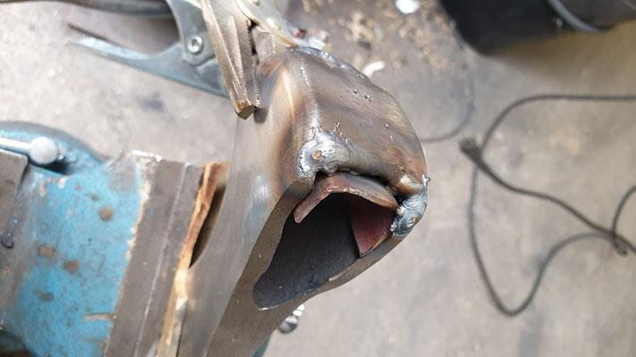 Soudure et rechargement en acier