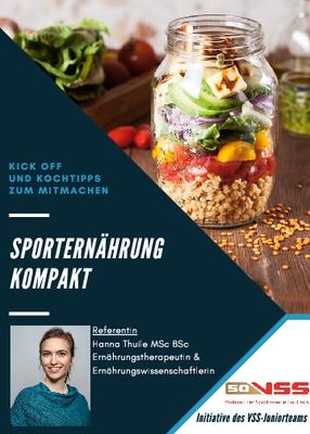 Flyer Gesunde Ernährung im Sport ©VSS