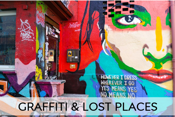 Graffiti and Lost Places.