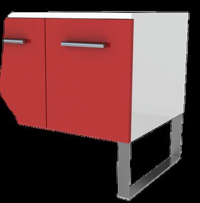 Pied de meuble Design en inox pour cuisine