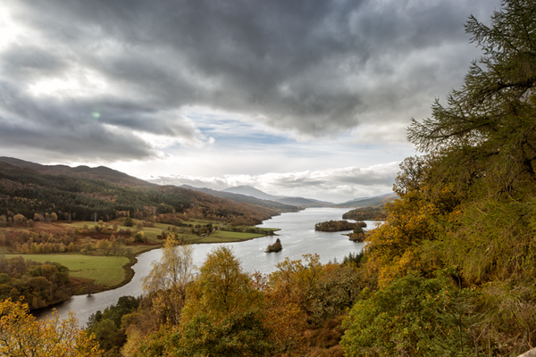 Loch Tummel, Queen's View