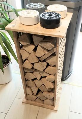 Feuerholzständer aus Holz bei Norfeuer GmbH