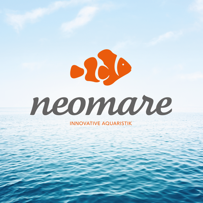 Logogestaltung Neomare – Innovative Aquaristik