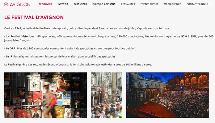 Avignon Terre de créations