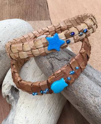 Medium Cedar Bark bracelets