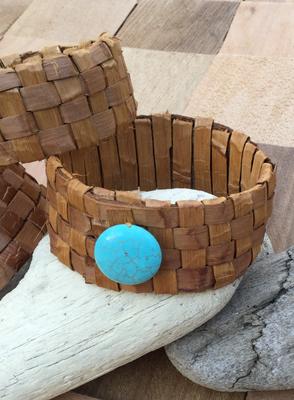 Large Cedar Bark Bracelet