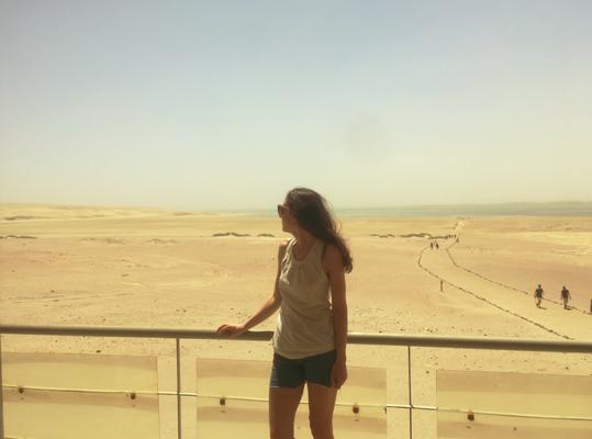Die Ruhe vor dem (Sand)Sturm
