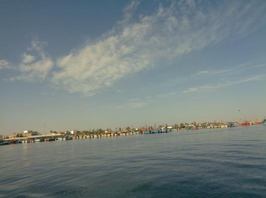 Der Hafen von Paracas