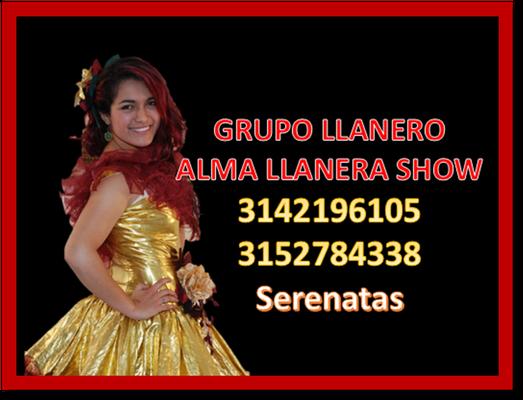Serenata llanera femenina 3142196105