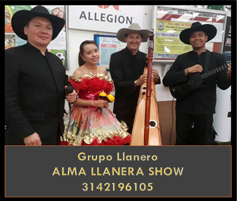 Grupo música Llanera Bogota 3142196105