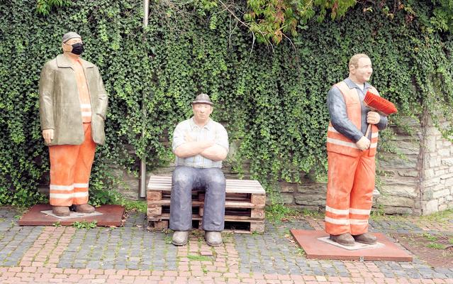 Alltagsmenschen in Eschborn © dokubild.de / Klaus Leitzbach