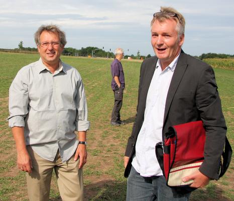 Wolfgang Barth und Jan Seghers © FRANKFURT DOKU 2008