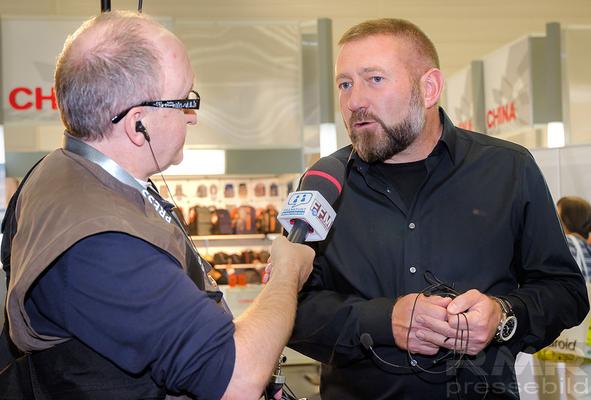 Pavel Kaplun im Interview © dokfoto.de / Friedhelm Herr