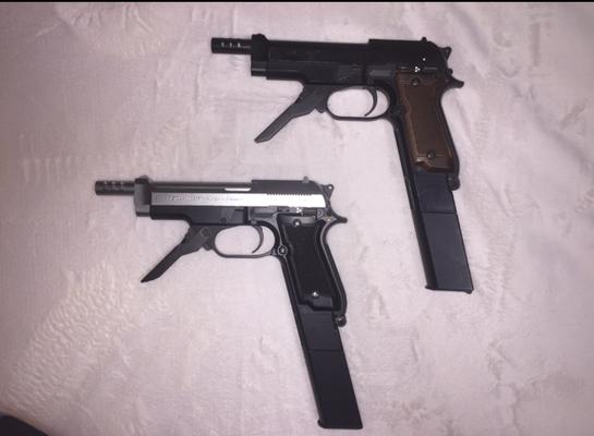 サブ M93R(東京マルイ電動ハンドガン)2丁