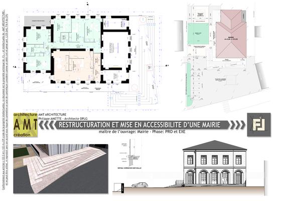 Mise en accessibilité d'une mairie