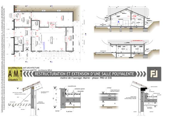 Extension d'un salle polyvalente