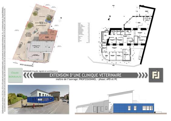 Extension d'une clinique vétérinaire