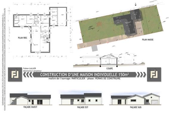 Construction d'une maison individuelle 120 mètres carrés