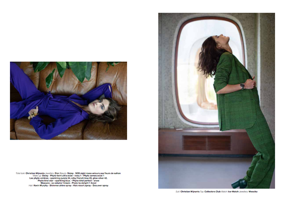 'Together' magazine ©Maria Dawlat Fashion Editor Nicolas Sirot