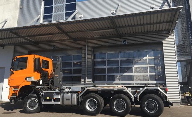 LKW hinteren Achsen in gelenkter und angetriebener Ausführung