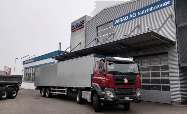 Tatra Phoenix Sattelschlepper Verkauf durch WIRAG AG