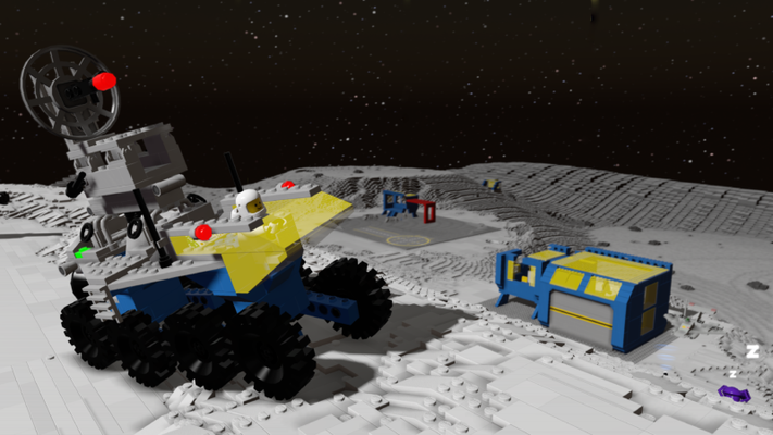 LEGO Worlds estdisponible sur PC, Xbox One, PS4 et cet automne 2017 sur Nintendo Switch.