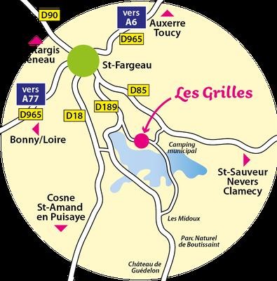 Le domaine équestre des Grilles, au coeur de la Puisaye, dans l'Yonne, en Bourgogne