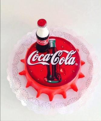 Tarta friki de Coca-Cola | Dulce Dorotea