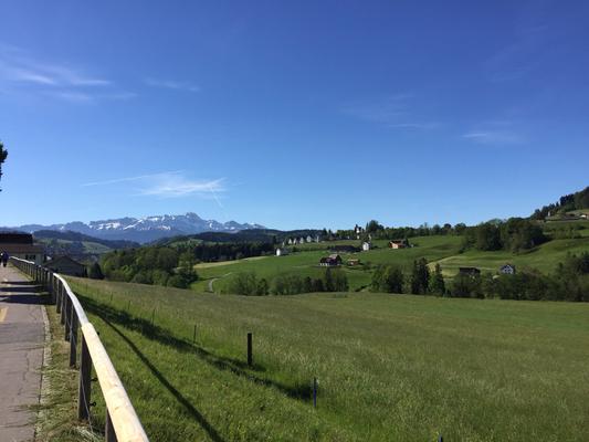 zwischen Gossau und Appenzell