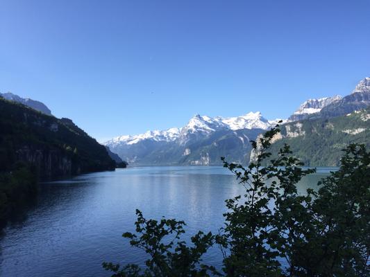 Blick in Richtung Luzern