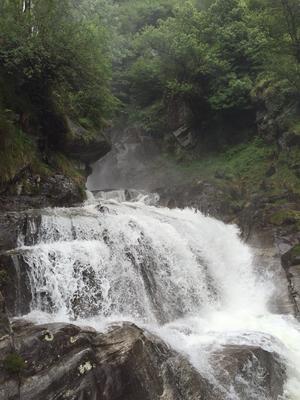 Wasserfall bei Santa Petronilla