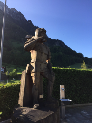 Wilhelm Tell beim Swiss Holiday Park