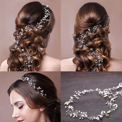 Brautschmuck mit Perlen
