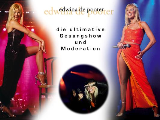 Edwina de Pooter - Moderatorin und Gesang