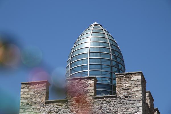 Botte-Kuppel auf dem Schloss