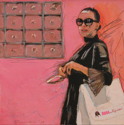 20x20 Mary goes shopping
