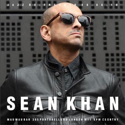Sean Khan at the Mau Mau bar, June 2018