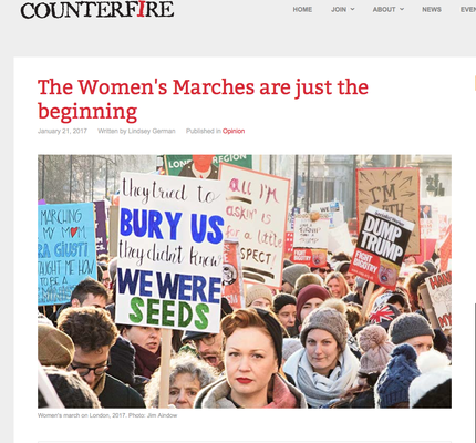 Counterfire: The Women's Marches are just the beginning 21.1.17
