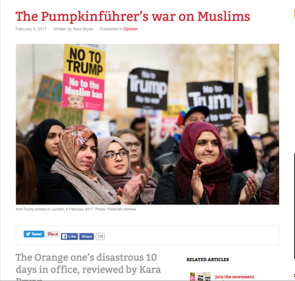 Counterfire: The Pumpkinfurer's war on muslims
